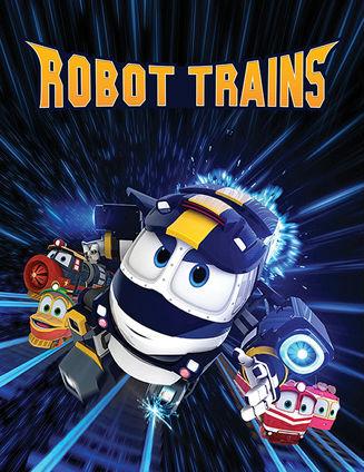 Роботы-поезда 1 сезон